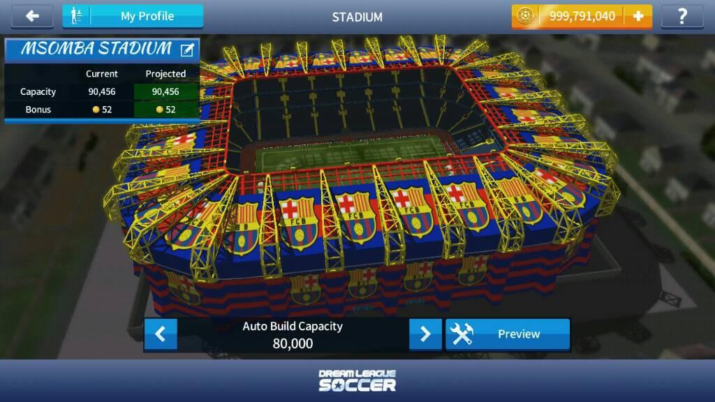 dream league soccer 17 stadium hack