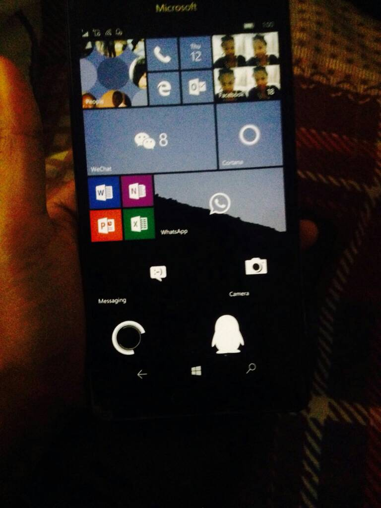 dimension lumia 950 xl