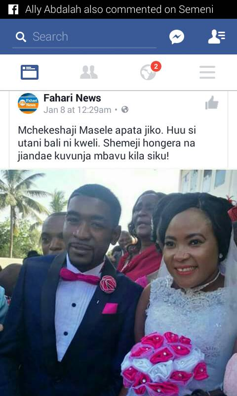 Hili Ndilo Jiko La Mr Chapombe